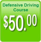 Defensive Driving Course $50.00 No Hidden Fees